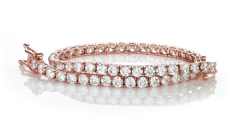 vogue-fashion-night-out-secrets-rose-gold-diamond-tennis-bracelet